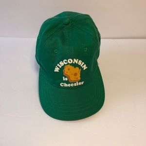 Wisconsin is Cheesier Baseball Hat American Eagle